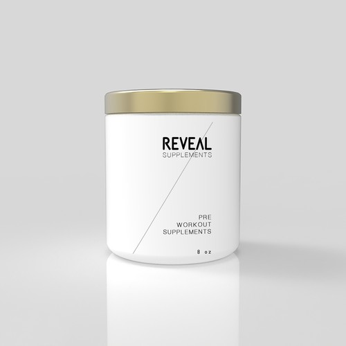 Packaging for workout supplement