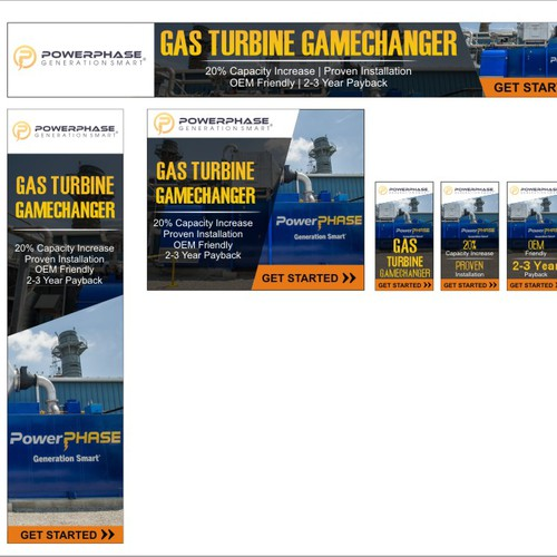 Looking for a sweet banner ad for our exciting new power plant technology.