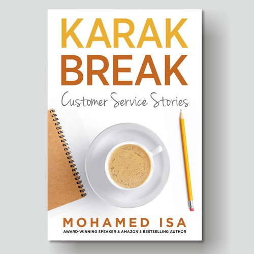 """Customer Service"" Book Cover Design Contest"