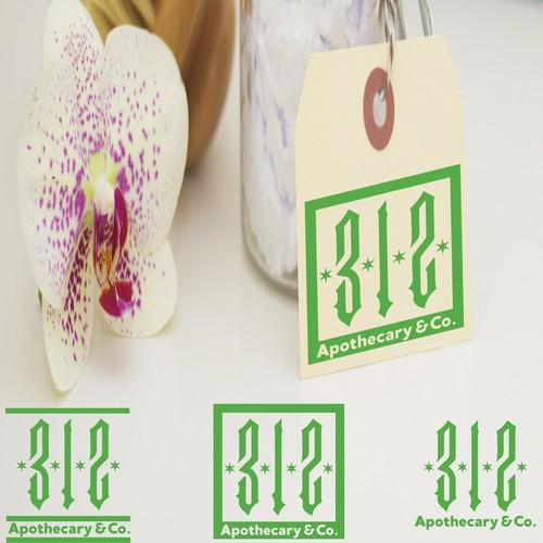 Logo for 312 Apothecary & Co.