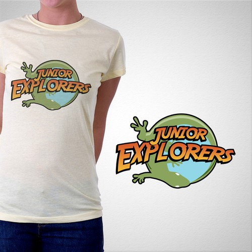 Junior Explorers camp shirt
