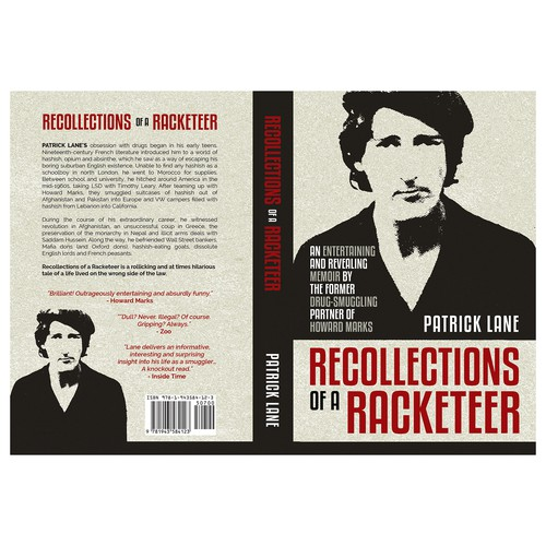 """Book cover for """"Recollections of a Racketeer"""""""