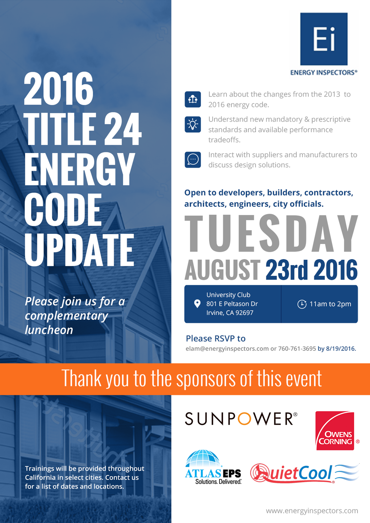2016 Title 24 Code Update - Irvine