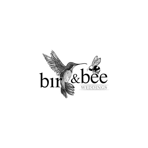 logo Bird and Bee