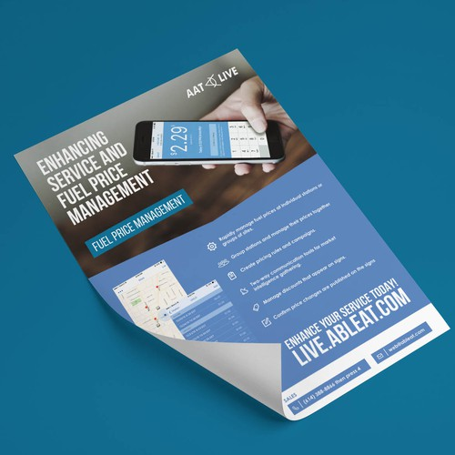 New Product Flyers for Able Applied Technologies