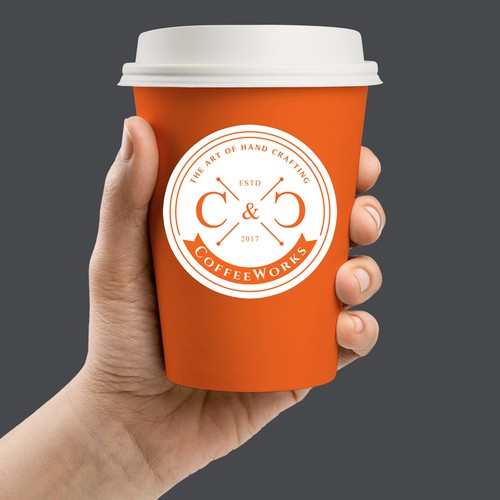 Logo for C & C Coffee