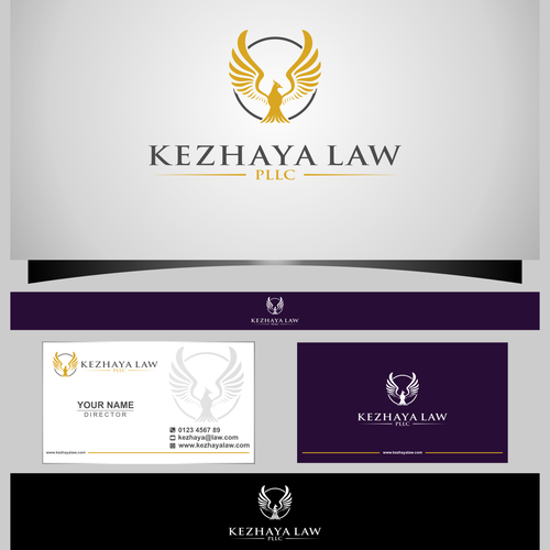 Create a unique, but professional, branding package for a law firm