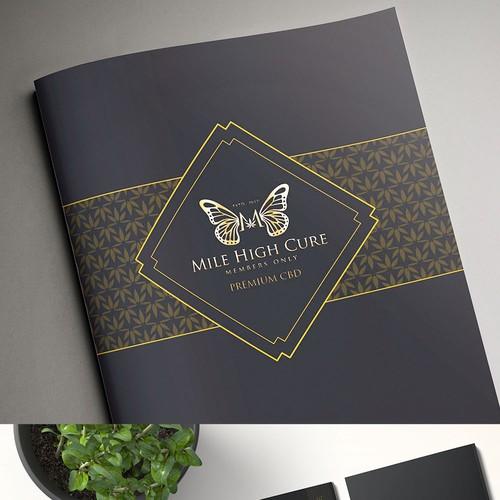 Brochure design for marijuana club