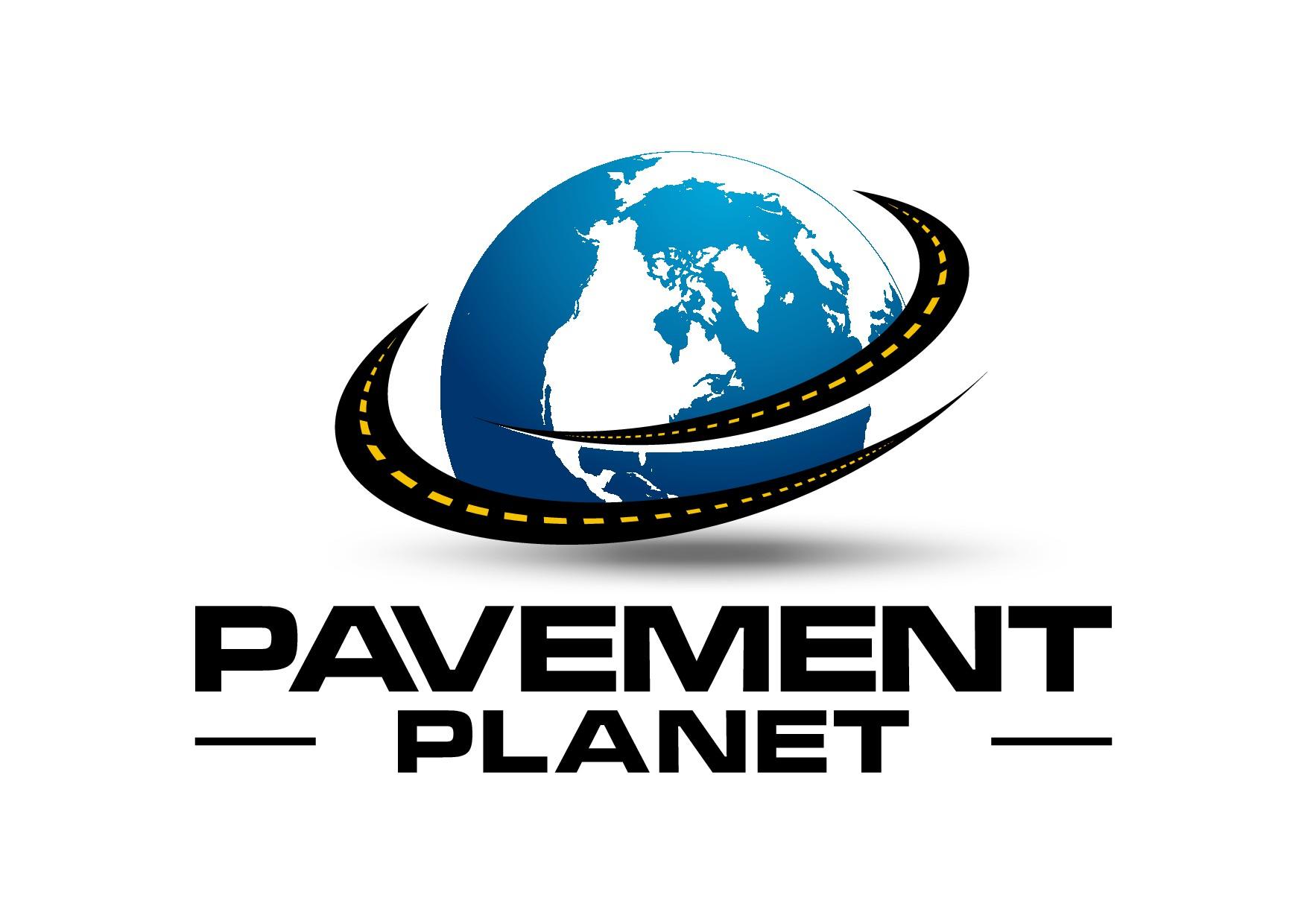 Create a fun logo for a global pavement & asphalt company