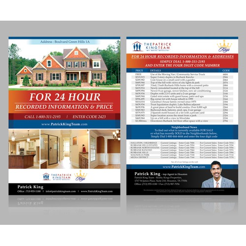 Real Estate Property Flyer Needed
