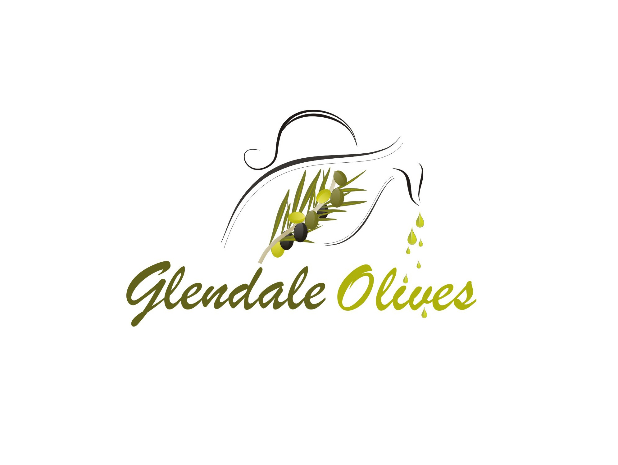 Create the next logo for Glendale Olives