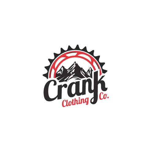 Logo 4 Mountain bike Shirt Co. Crank Clothing Co.