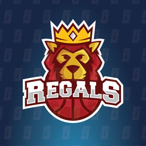 Concept for The Regals Youth Basketball Club.