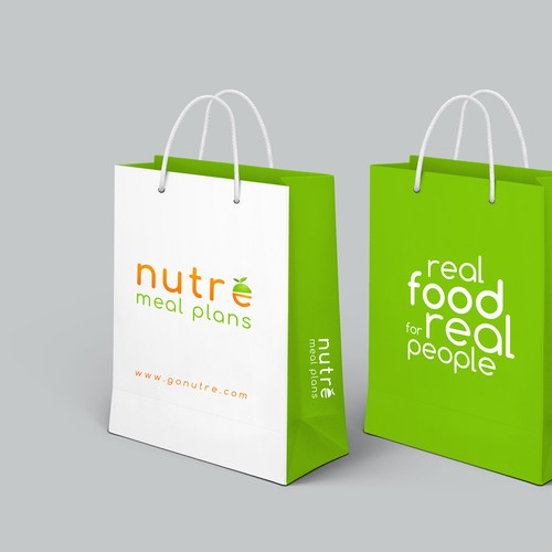 Shopping Bag design for nutre