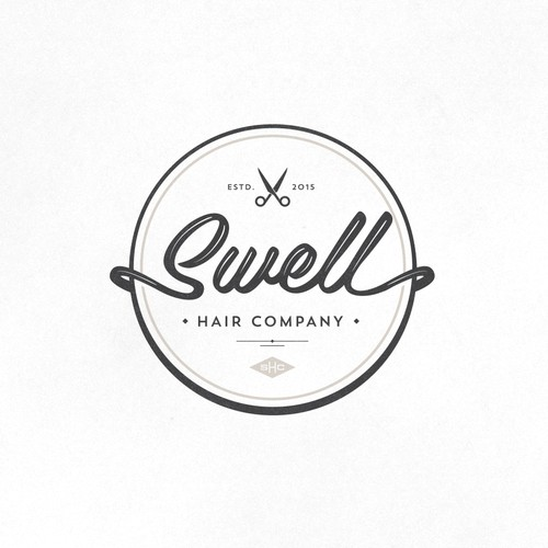 Logo for Swell Hair Company