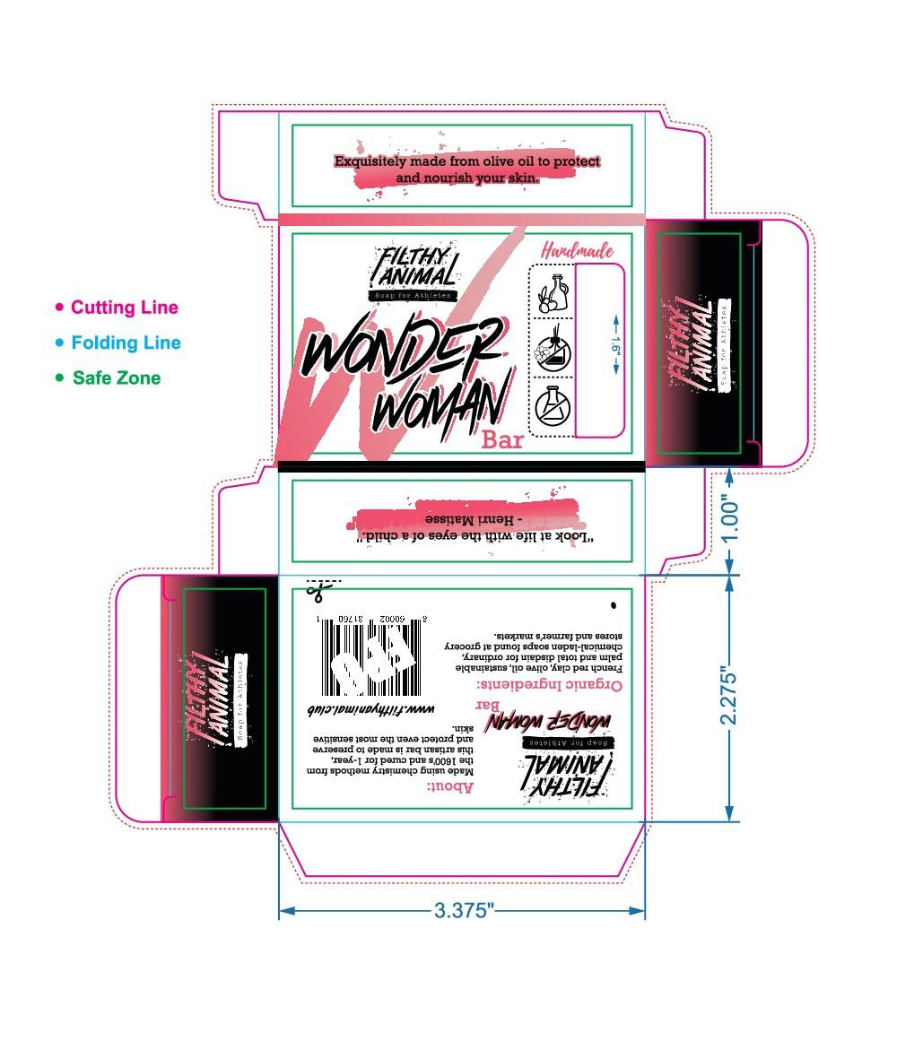 Wonder Woman Soap Box