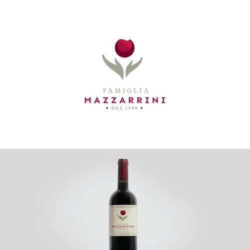 Logo for Italian Winery in Tuscany