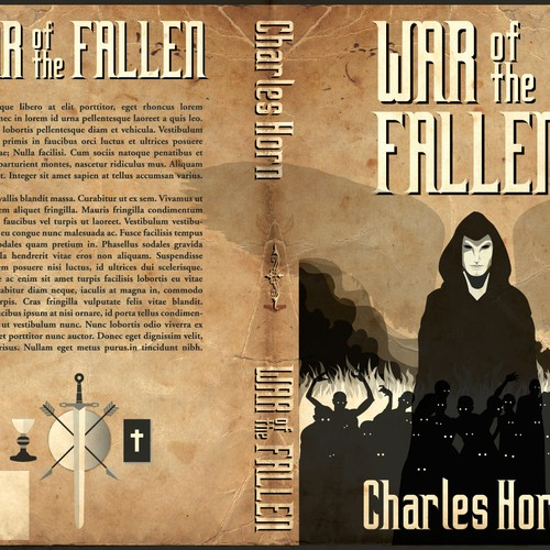 Book cover capturing image(s) of Hell's Minions destructive fury unleashed on Earth.