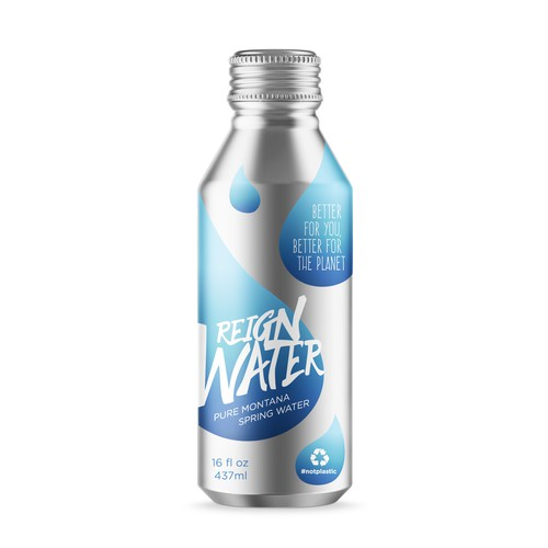 Print for Water in Alu-Bottle