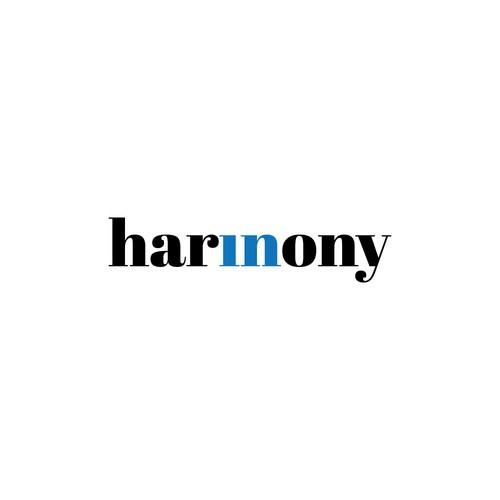 in hamony logo concept