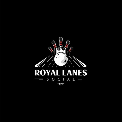 Royal Lanes Social - Winning design