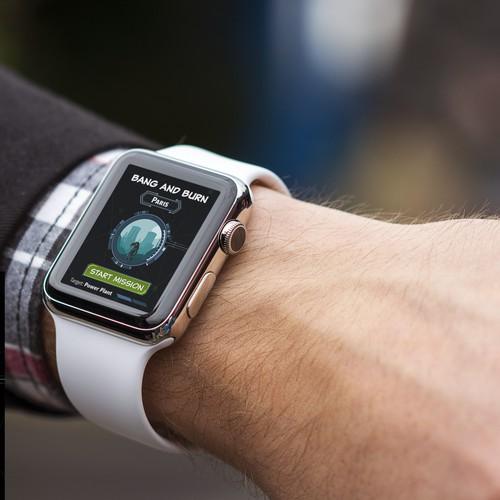 Game of Espionage Apple watch design