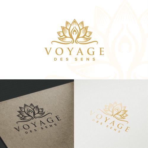 Pure Estetic Logo concept for Voyage des Sens