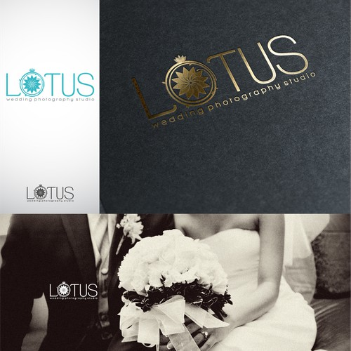 Create an AWESOME logo for a new wedding photography studio