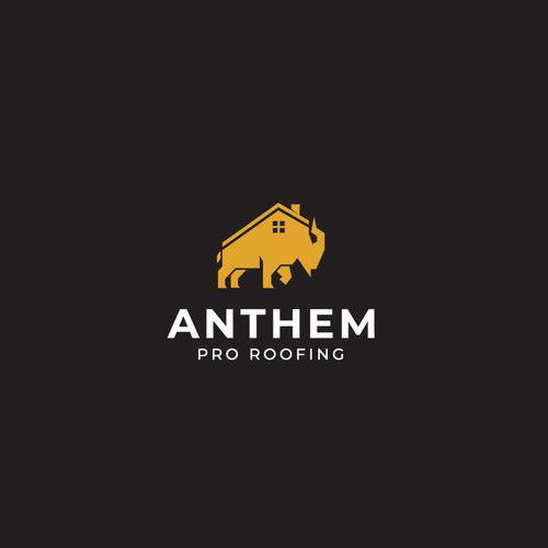 Logo concept for Anthem Pro Roofing