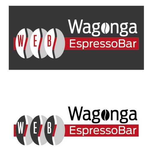 Use a play on words to create our new coffee shop logo