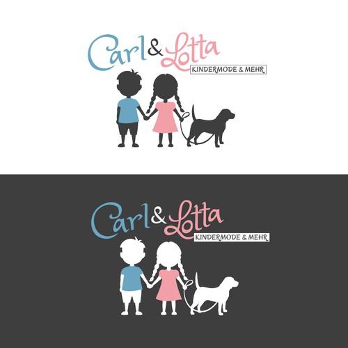 Logo Concept für Carl & Lotta (Kindermode&Mehr)