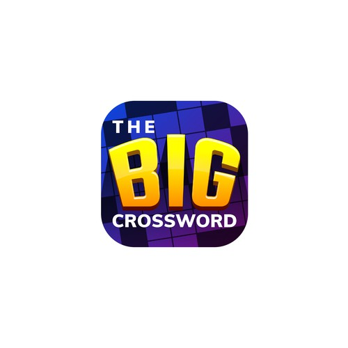 The Big Crossword APP ICON