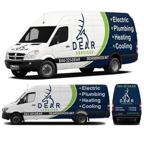 DEAR Services Van Wrap Contest