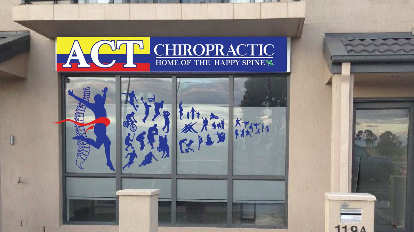 Create a life affirming logo : chiropractic excellence with love and service for ACT Chiropractic