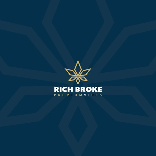 Rich Broke - High End and Luxurious Cannabis Brand.