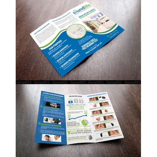 Hearing Center Brochures