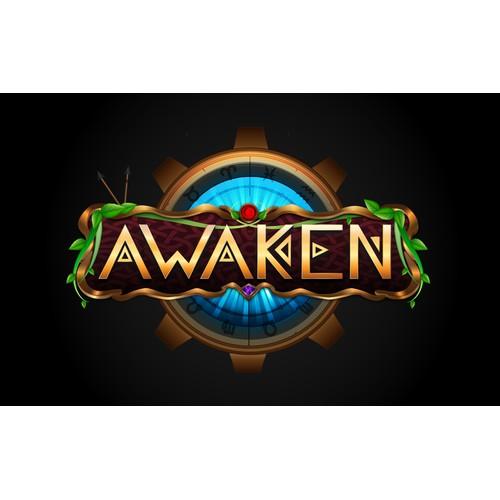 Game logo fantasy