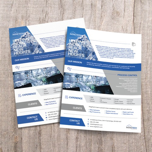 RidgeTech Automation - Marketing Documents