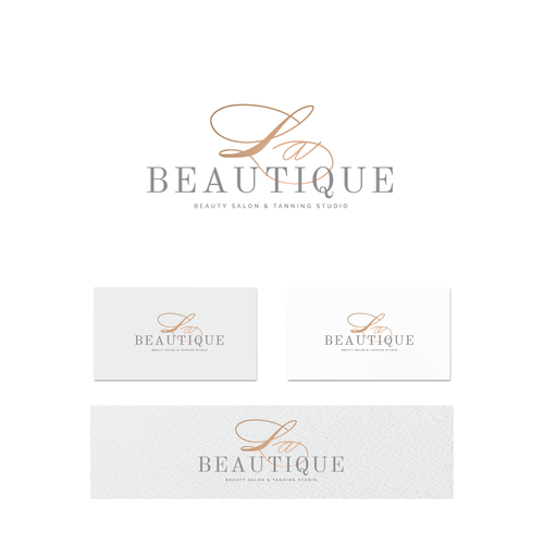 Logo for beauty salon, glamorous, feminine and eternal youthful