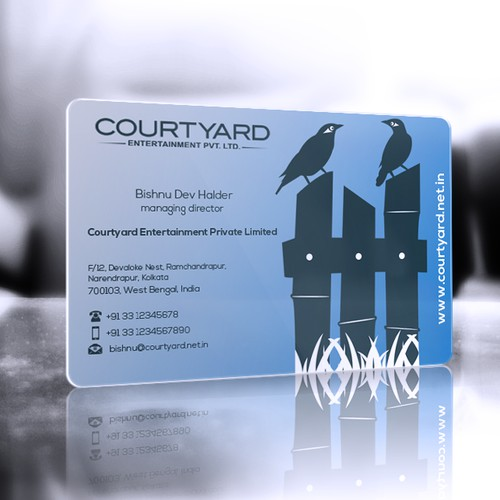 Help Courtyard with a new stationery