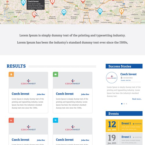Creative start-up community website