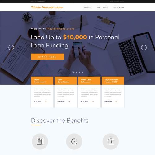Website for Loan Company