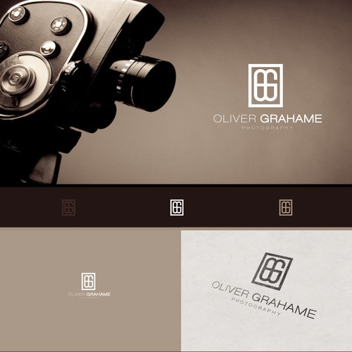 Create a simple but stylish logo for an architectual photographer!