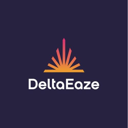 Minimalist Bold Logo for DeltaEaze