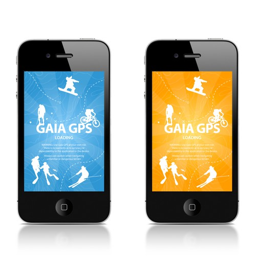 iPhone icon for Gaia GPS