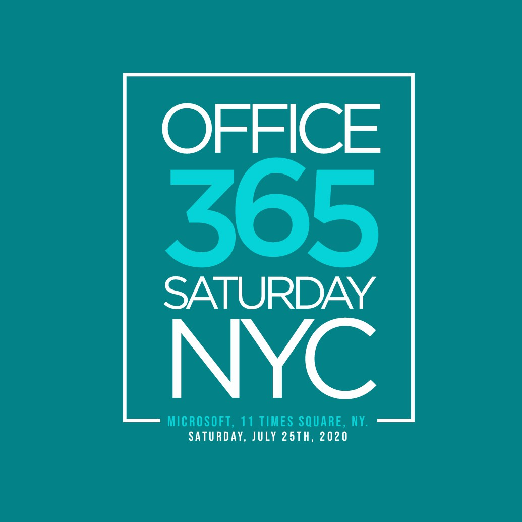 T Shirt Design for Office 365 NYC Conference
