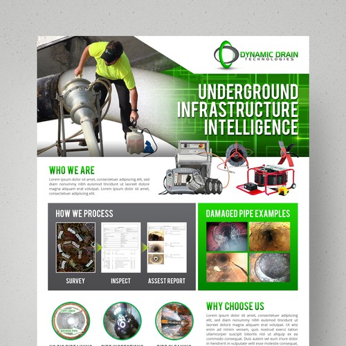 Dynamic Drain Technologies Infrastructure Intelligence Flyer