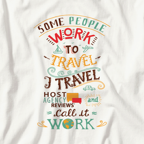 T-shirt for the Travel Industry