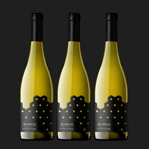 Riesling Trocken Label Design