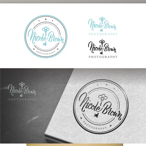 Vintage elegant style for Nicole Brown Photography